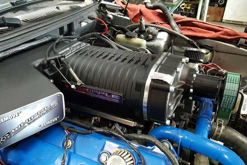 Svt Performance Parts >> 2003-2004 Mustang Cobra Whipple 3.4L Crusher Supercharger Kit (Black) 2120CB