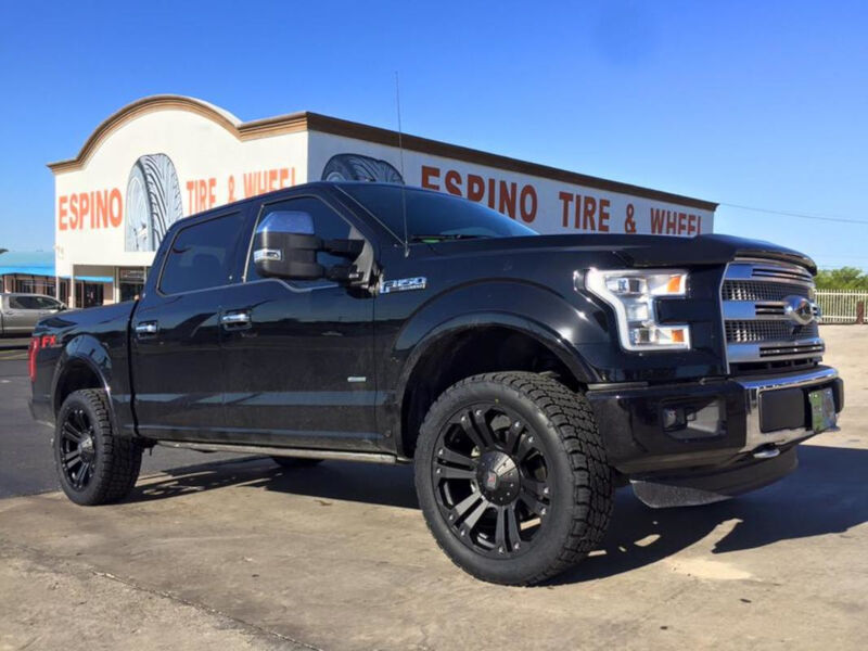 2004 2018 F150 Xd 778 18x9 Quot Matte Black Monster Wheel