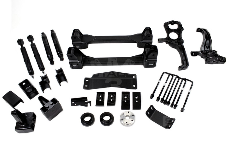 2009-2013 F150 4WD Zone 6-inch Suspension Lift Kit