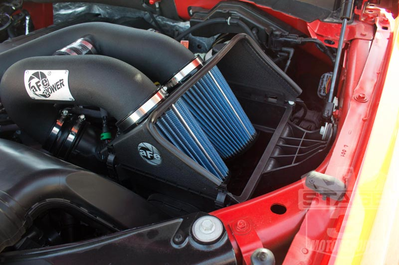 2015 F150 3.5L EcoBoost aFe Magnum Force Stage 2 Cold Air Intake Installed