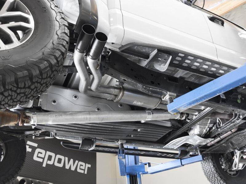 "2017-2018 Raptor 3.5L EcoBoost aFe Rebel-Series 3"" Exhaust ..."