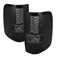 2004-2008 F150 Spyder LED Tail Lights (Smoked)