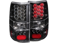 2004-2008 F150 ANZO LED Taillights (Black Housing)