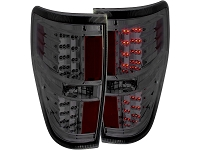 2009-2014 F150 / SVT Raptor ANZO LED Taillights (Smoked)