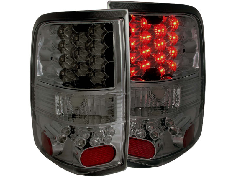 2004 2008 f150 spyder led tail lights red smoked sl5003270. Black Bedroom Furniture Sets. Home Design Ideas