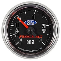 Auto Meter Ford Racing Full Sweep 30psi Vacuum/Boost Gauge (2-1/16