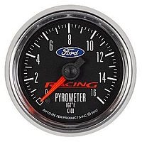 Auto Meter Ford Racing Full Sweep Pyrometer Gauge (2-1/16
