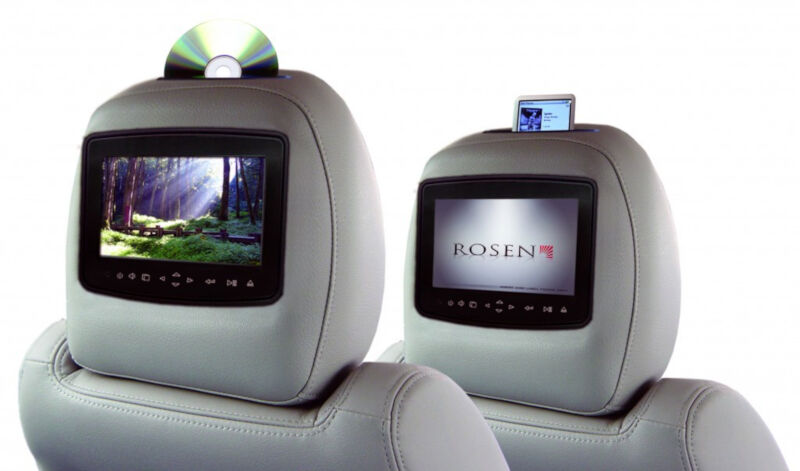 Raptor Rosen AV7900 Factory-Look Headrest Entertainment System