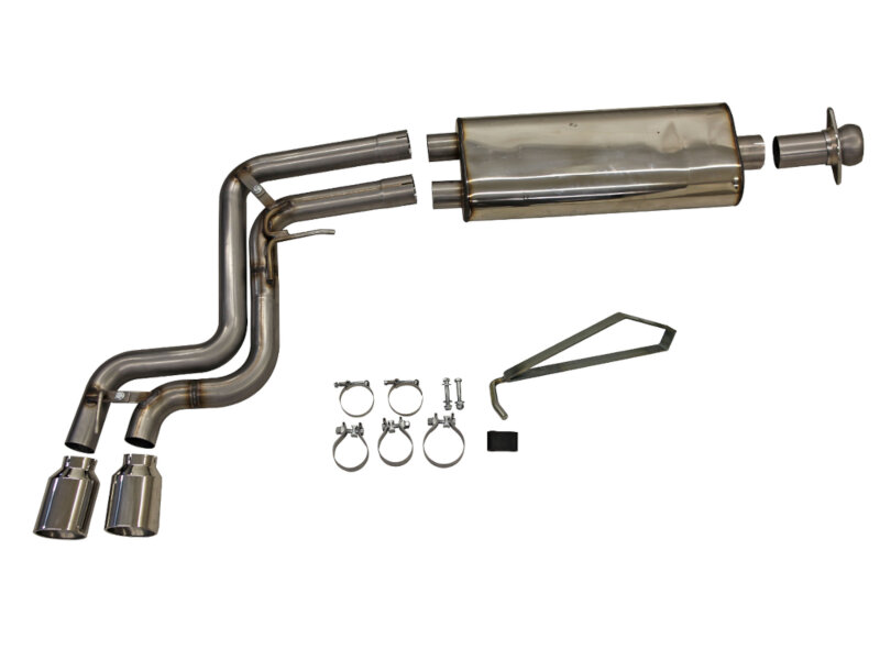 2011-2014 F150 Raptor 6.2L Bassani Cat Back Exhaust System