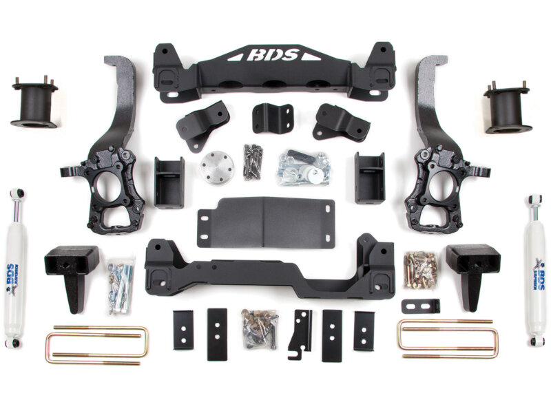 "2014 F150 4WD BDS 6"" Suspension Lift Kit"