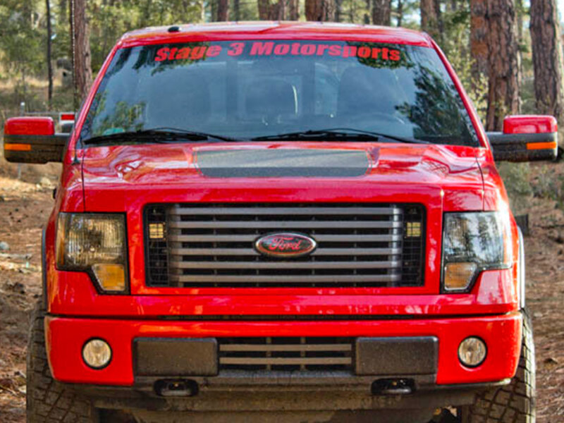 2011-2012 F150 FX2/FX4 Boost-Bars Lower Two-Bar Grille