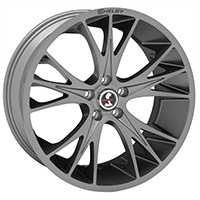 1994-2017 Mustang Carroll Shelby CS1 20x9 Wheel (Gunmetal)