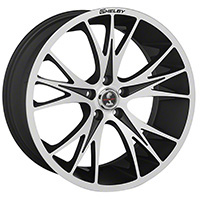 1994-2017 Mustang Carroll Shelby CS1 20x9 Wheel (Matte Black / Machined)