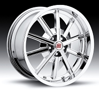 2005-2017 Mustang Carroll Shelby CS67 20x10 Wheel (Chrome)