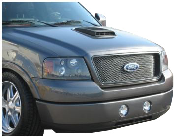 2004-2008 F-150 CDC Functional Shaker Hood Scoop System