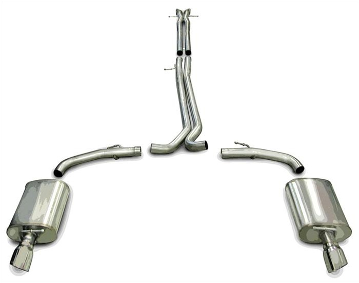 Worksheet. 20102017 Taurus SHO EcoBoost Corsa Dual Exhaust System  Black