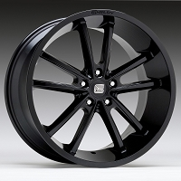 1994-2017 Mustang Carroll Shelby CS2 20x9 Wheel (Gloss Black)
