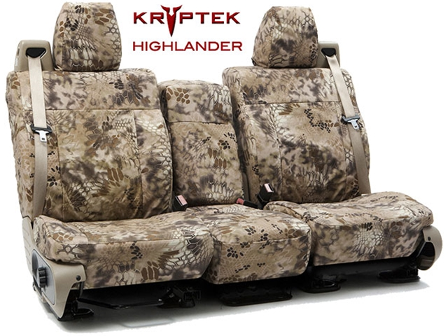 Camo Car Seat Covers >> 2004-2008 F150 CoverKing Ballistic Kryptek Highlander Camo Front Seat Covers CTSCKT01