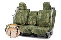 2004-2008 F150 CoverKing Ballistic A-TACS Folliage/Green Camo Front Seat Covers
