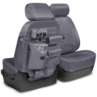 2015-2017 F150 CoverKing Ballistic Cordura Front Seat Covers (Charcoal)