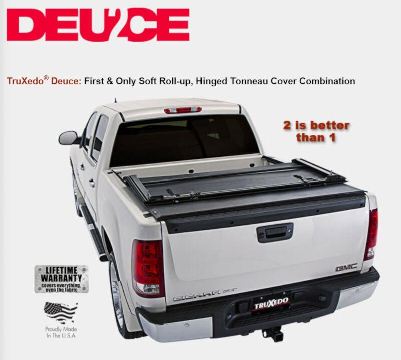 2009 2014 f150 truxedo deuce 2 tonneau cover 6 5 bed w o ford cargo system 798101