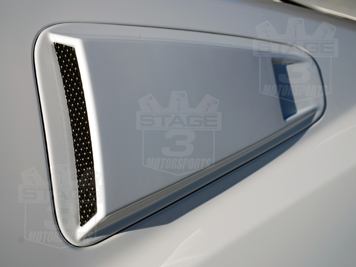 Mustang Quarter Window Louvers