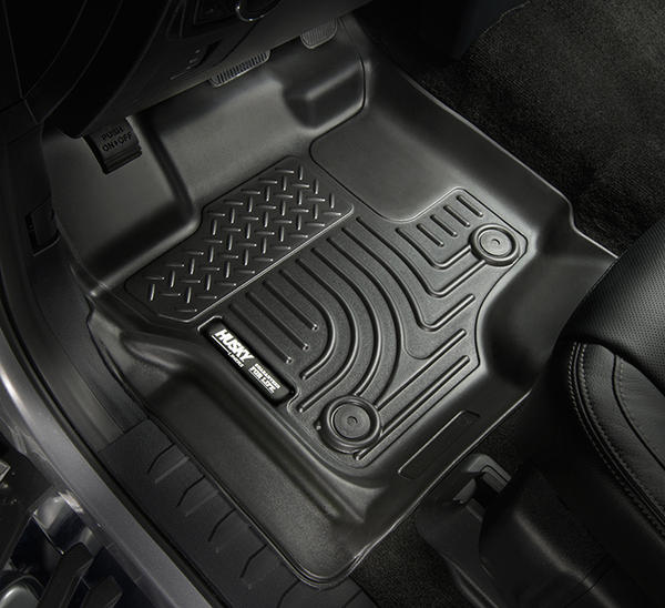 2017 F250 Amp F350 Husky Liners Weatherbeater Front Floor