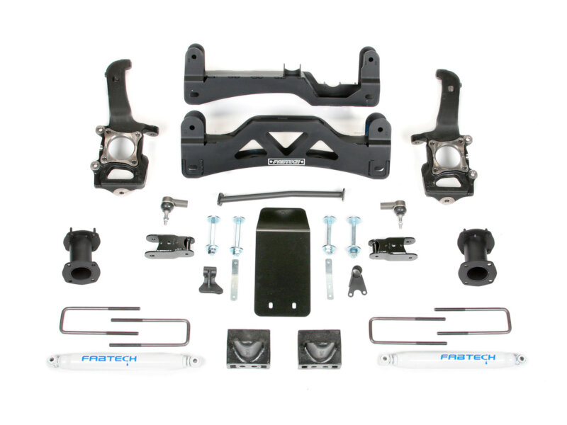 "2014 F150 4WD Fabtech Basic 6"" Lift Kit (SuperCrew Only)"
