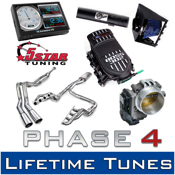 2011-2014 F150 5.0L S3M Phase 4 Performance Package