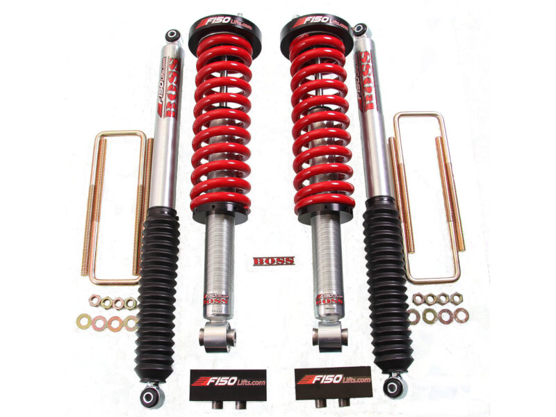 "2009-2013 F150 F150Lifts BOSS Ultimate 0-3"" Coilover Lift Kit"