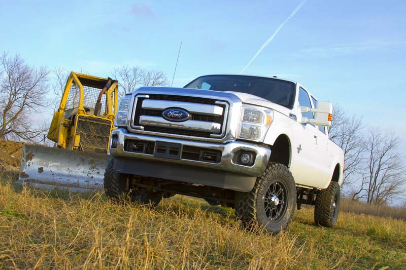 2011 2016 f 250 f 350 4wd w o top overload springs zone offroad 6 radius arm lift kit diesel f30