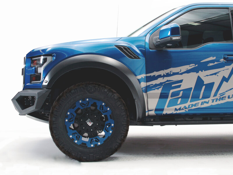 2017-2018 Raptor Fab Fours Vengeance Front Bumper FF17-D4351-1