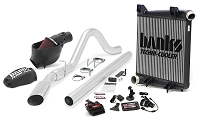 2008-2010 Super Duty F250 & F350 6.4L Banks Big Hoss Bundle - Exhaust/Tuner/Cold Air Intake/Intercooler