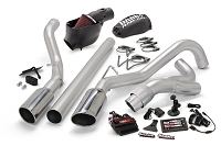 2008-2010 Super Duty F250 & F350 6.4L Banks Six Gun Bundle - Exhaust/Tuner/Cold Air Intake