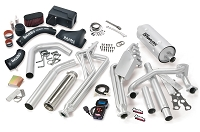 2011-2015 Class-A Motorhome (30 Valve) 6.8L V10 Banks Power Pack System - Headers/Tuner/Cold Air Intake/Exhaust (Left Exit)