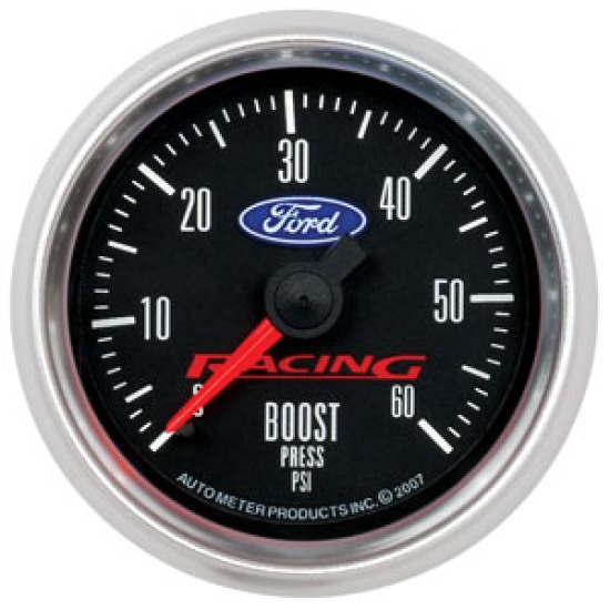 Ford Racing Mustang Boost Gauge - 2 1/16th