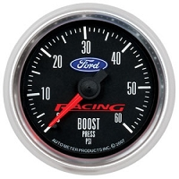 Auto Meter Ford Racing Mustang Boost Gauge - 2 1/16th