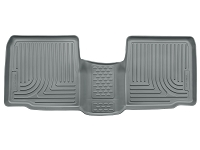 2015 Ford Explorer Husky Liners WeatherBeater 2nd Row Floor Mats (Grey)