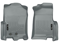 2012-2016 Ford Expedition Husky Liners WeatherBeater Front Floor Mats (Grey)