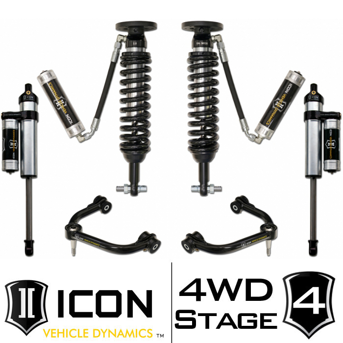 "2014 F150 4WD ICON 0-3"" Lift Kit - Stage 4"