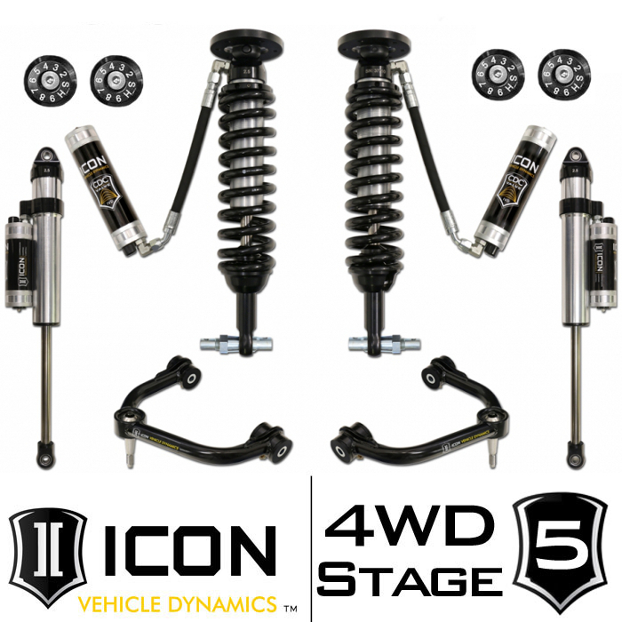 "2014 F150 4WD ICON 0-3"" Lift Kit - Stage 5"