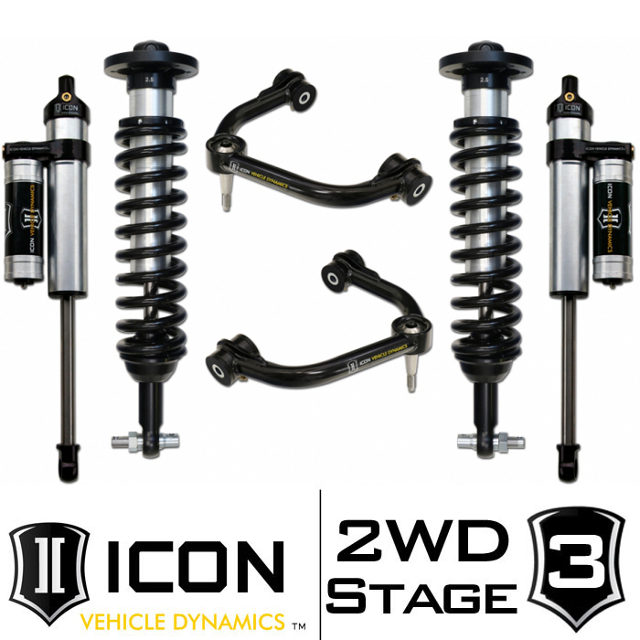 "2014 F150 2WD ICON 0-3"" Lift Kit - Stage 3"