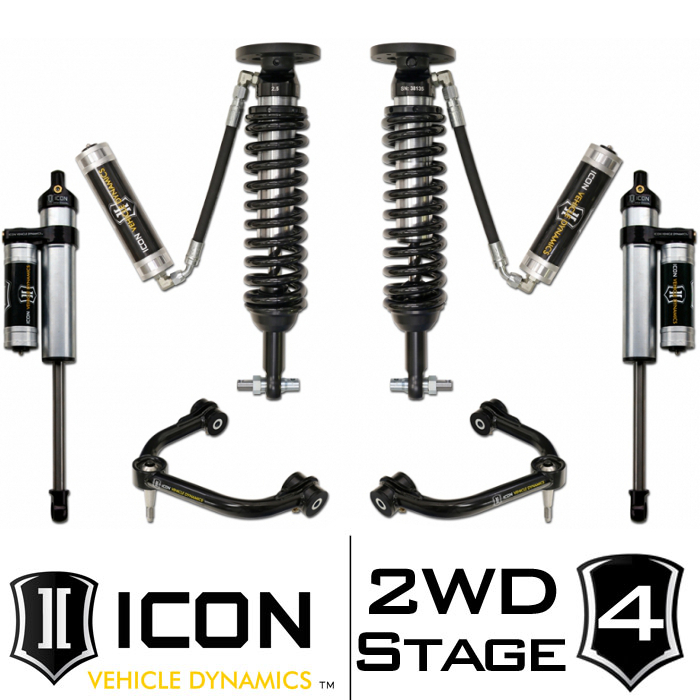 "2014 F150 2WD ICON 0-3"" Lift Kit - Stage 4"