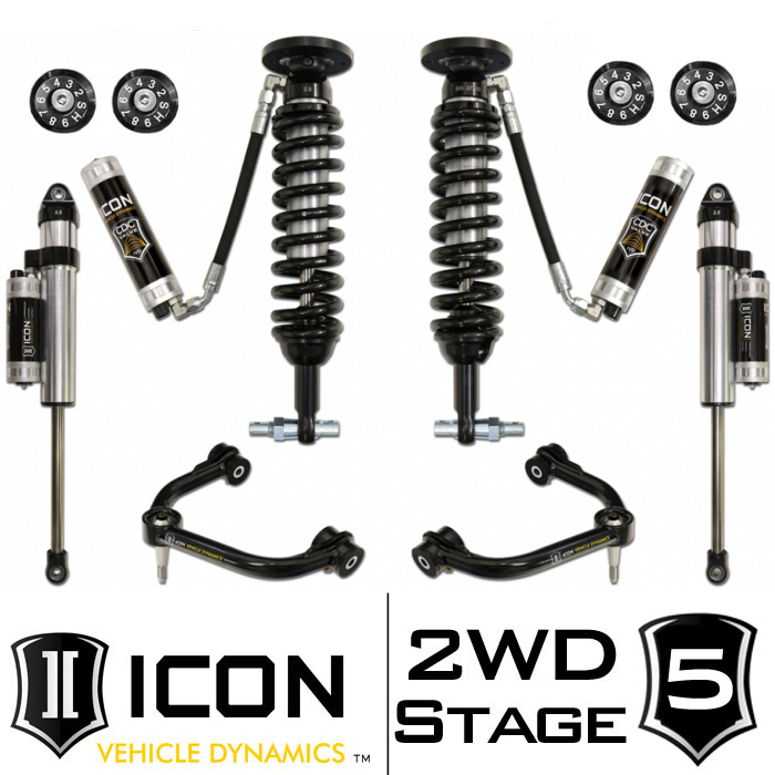"2014 F150 2WD ICON 0-3"" Lift Kit - Stage 5"