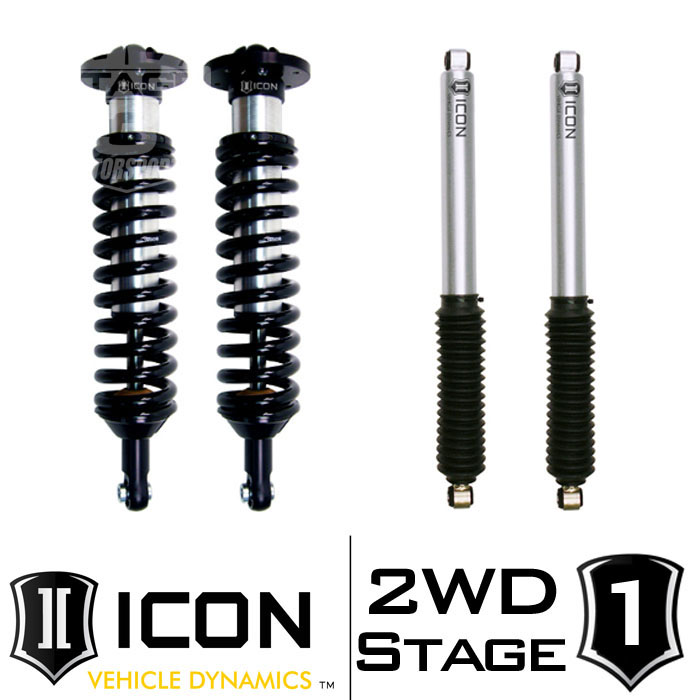 "2009-2013 F150 2WD ICON 0-3"" Lift Kit - Stage 1"