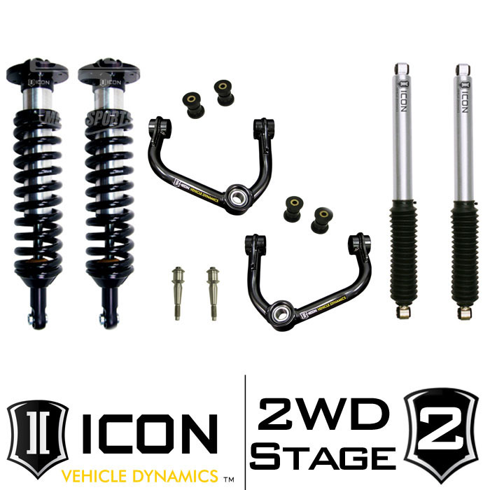 "2009-2013 F150 2WD ICON 0-3"" Lift Kit - Stage 2"