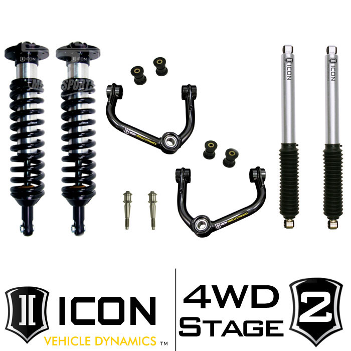 2011-2014 F150 EcoBoost 4WD ICON Stage 2 Suspension Package