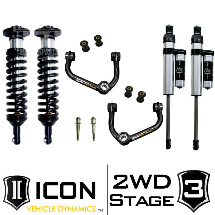 "2009-2013 F150 2WD ICON 0-3"" Lift Kit - Stage 3"
