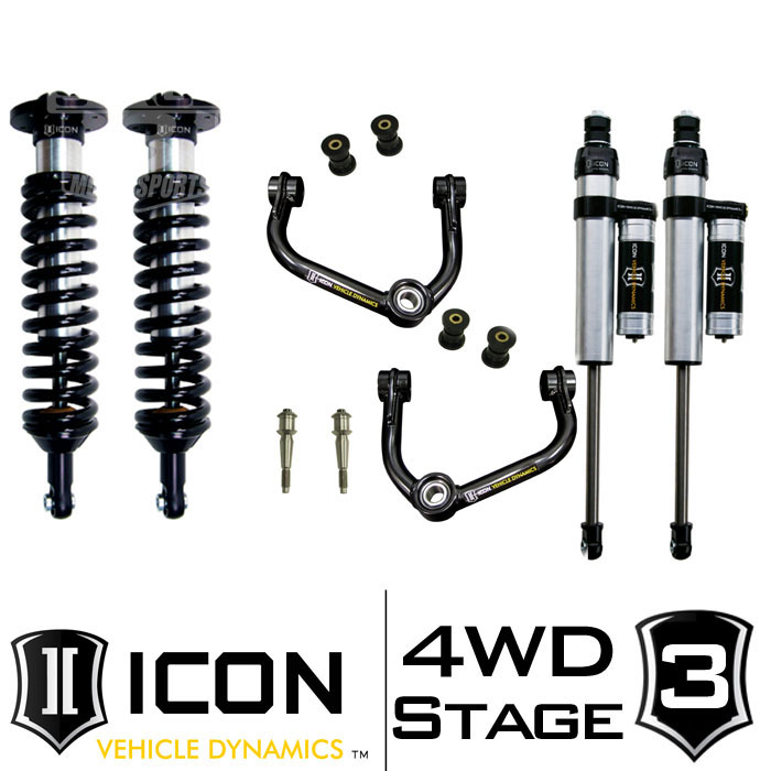 "2009-2013 F150 4WD ICON 0-3"" Lift Kit - Stage 3"