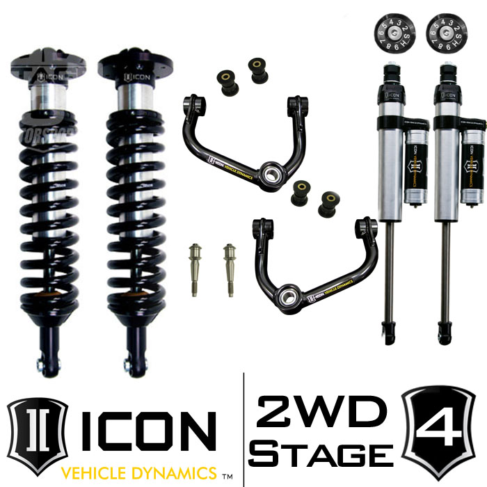 "2009-2013 F150 2WD ICON 0-3"" Lift Kit - Stage 4"